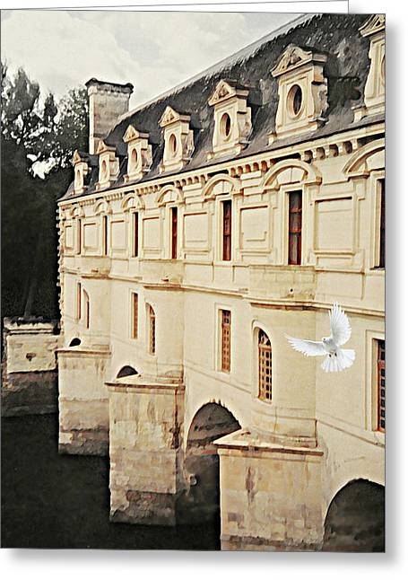 Chenonceau Dreams Greeting Card