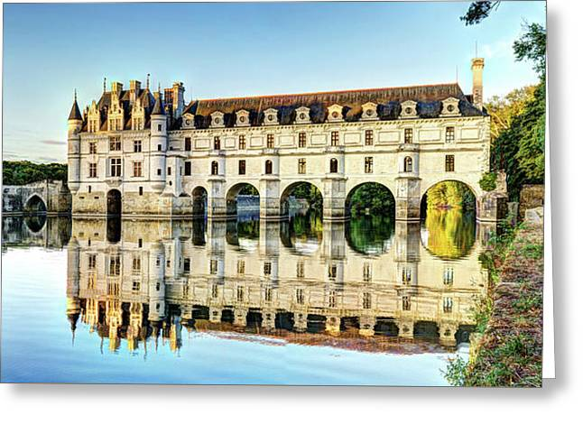 Chenonceau In The Forest Greeting Card