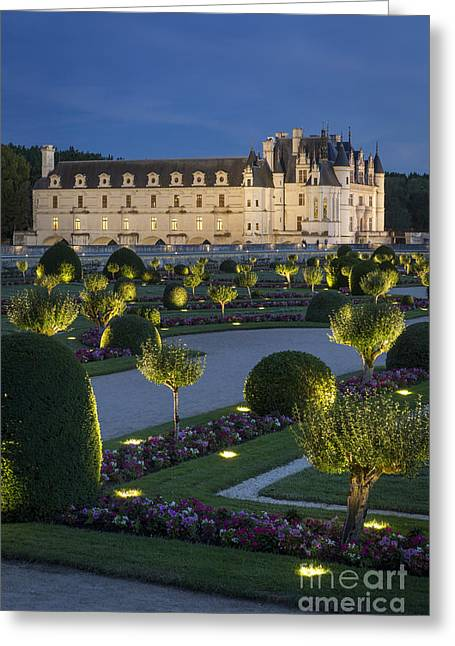 Chenonceau Lights Greeting Card