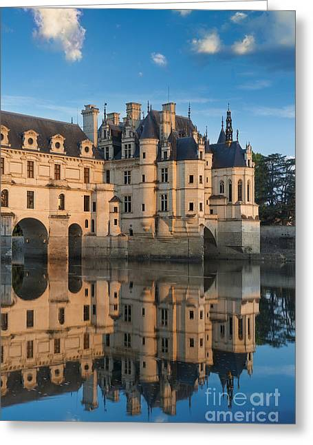 Chenonceau Morning II Greeting Card