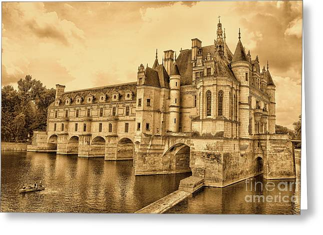 Chenonceau Greeting Card