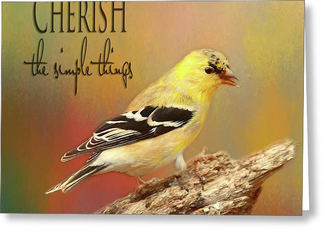 Cherish Greeting Card