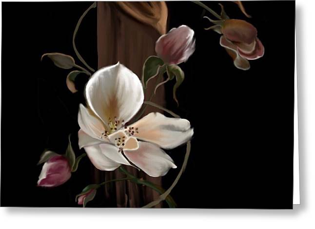 Cherokee Rose Greeting Card