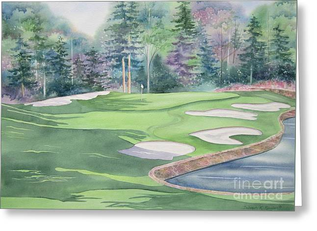 Cherokee Town And Country Club Greeting Card