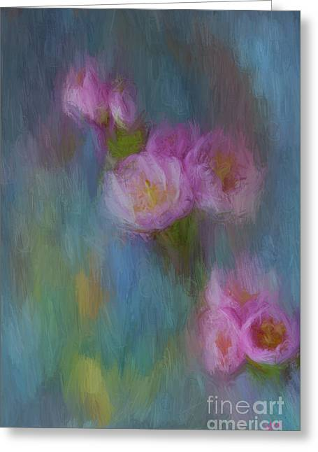 Cherry Blossom Greeting Card by Jim  Hatch