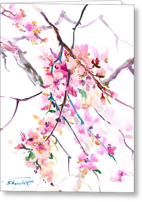 Cherry Blossom, Washington Dc Greeting Card