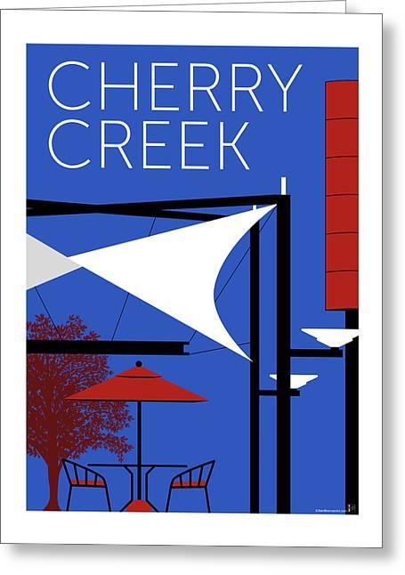 Cherry Creek Blue Greeting Card
