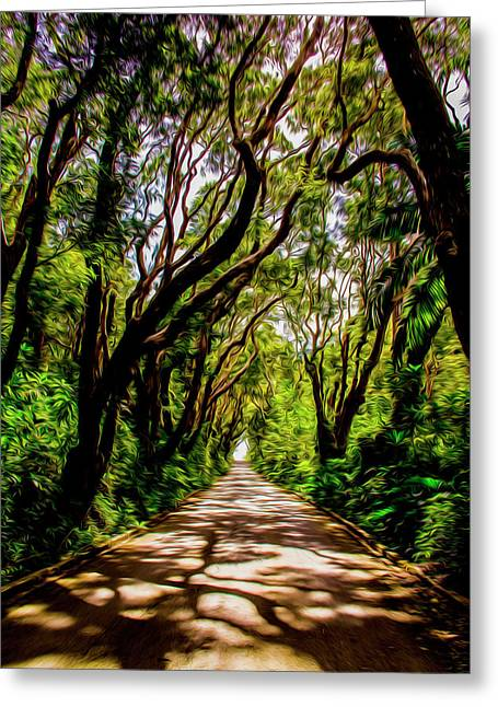Cherry Tree Hill Greeting Card
