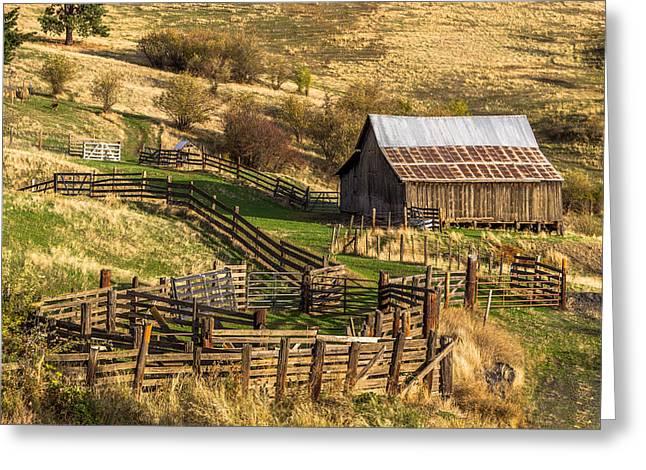 Cherrylane Barn Greeting Card