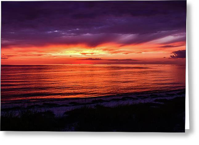 Chesapeake Bay Sunset Greeting Card