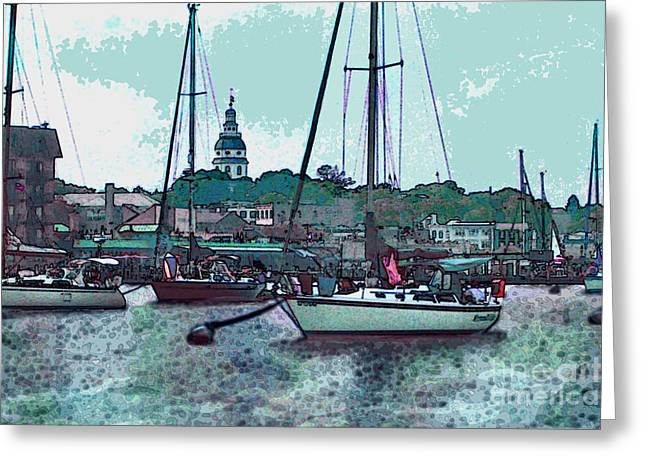 Chesapeake Bayscape Greeting Card
