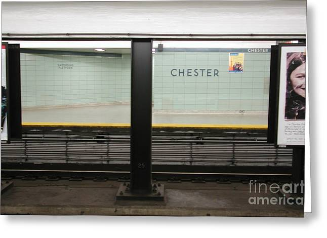 Chester Station Toronto Greeting Card