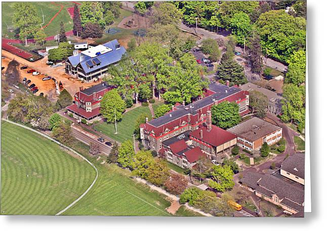 Chestnut Hill Academy IIi Greeting Card by Duncan Pearson