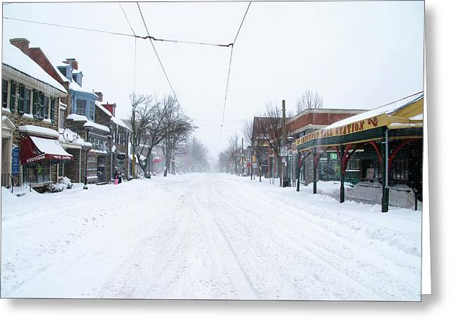 Chestnut Hill - Wintertime Greeting Card