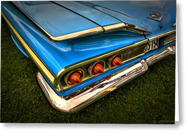Chev One Greeting Card by Jerry Golab