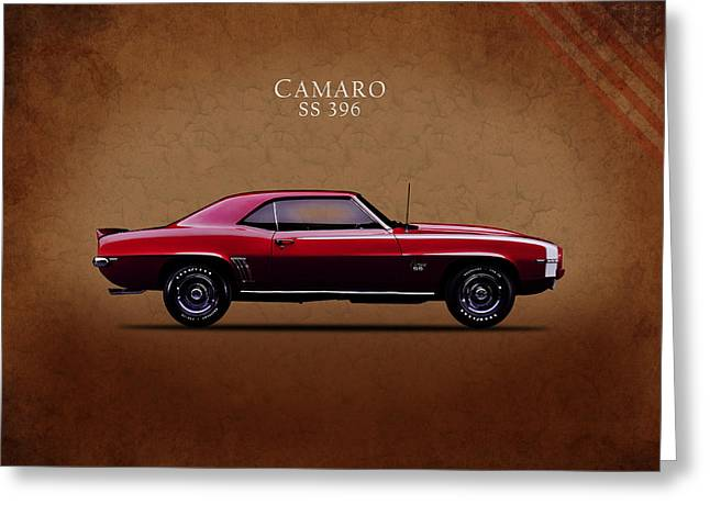 Chevrolet Camaro Ss 396 Greeting Card