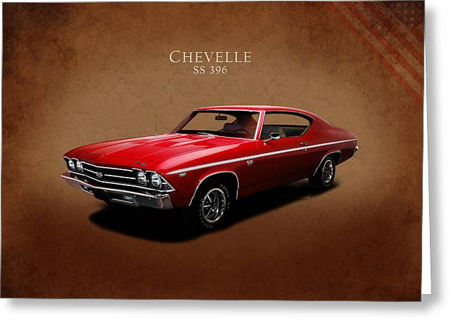 Chevrolet Chevelle Ss 396 Greeting Card by Mark Rogan