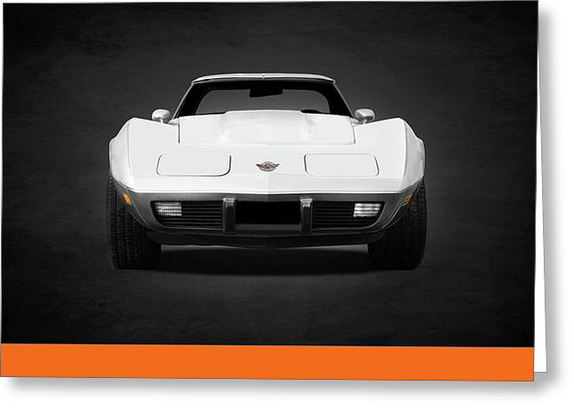 Chevrolet Corvette Sting Ray Greeting Card by Mark Rogan