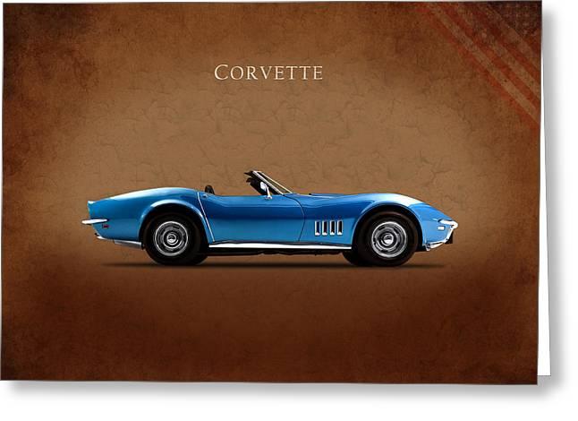 Chevrolet Corvette Stingray Greeting Card by Mark Rogan