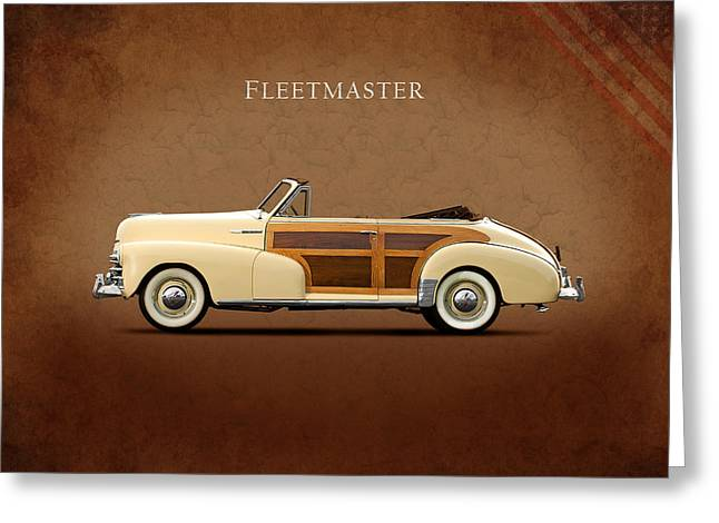 Chevrolet Fleetmaster 1947 Greeting Card by Mark Rogan