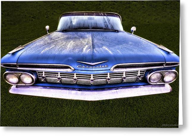 Chevrolet Greeting Card by Jerry Golab