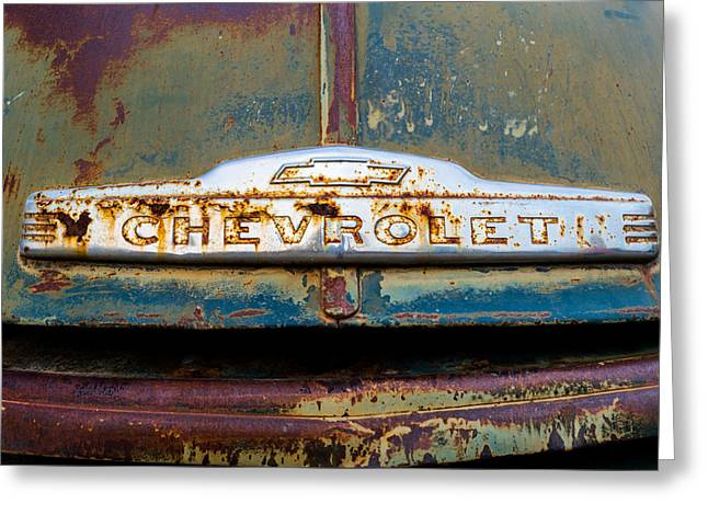 Chevrolet Greeting Card by TL  Mair