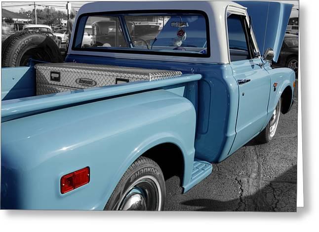 Chevrolet Truck Greeting Card by John Straton
