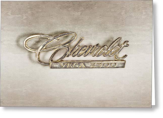 Chevrolet Vega Emblem Greeting Card