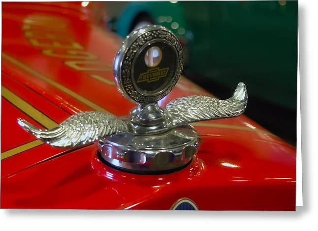 Chevrolet Wings Greeting Card