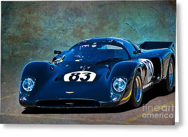Chevron B16 Greeting Card