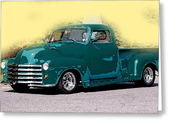 Chevy Azure Greeting Card
