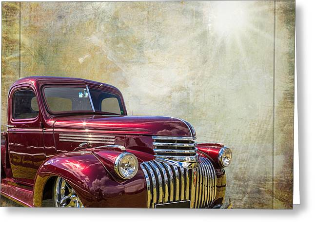 Chevy Beauty Greeting Card by Keith Hawley