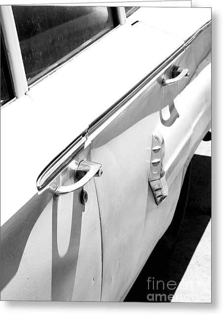 Chevy Biscayne Greeting Card by Amanda Barcon