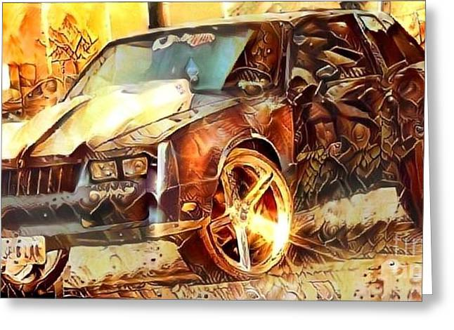 Chevy Coupe Greeting Card