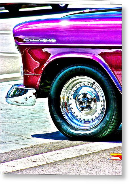 Chevy Greeting Card by Jeremy Stewart