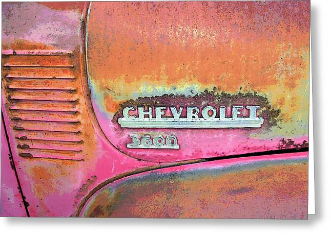 Chevy Lines Greeting Card by Jerry McElroy