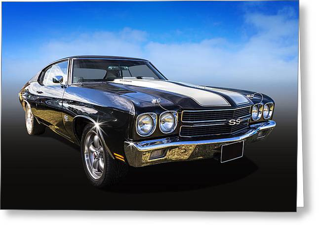 Chevy Muscle Greeting Card