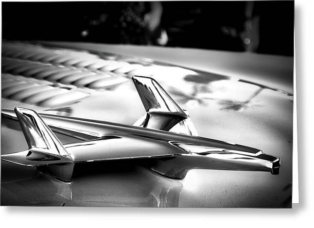 Chevy Noir Greeting Card