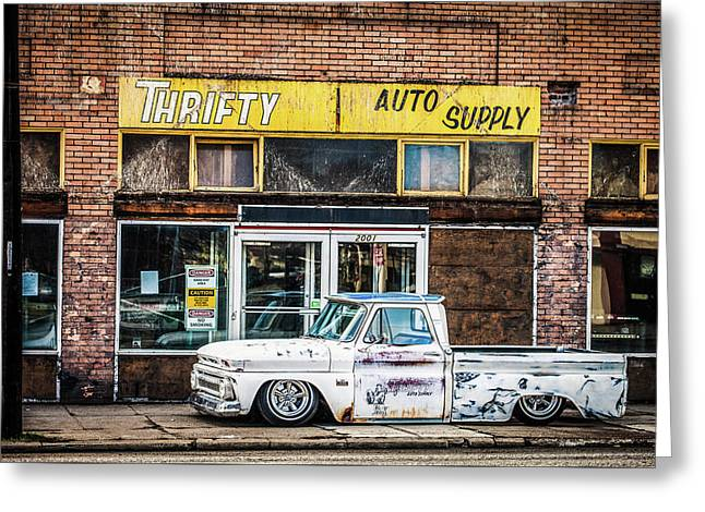Chevy Pick Up 3 Greeting Card