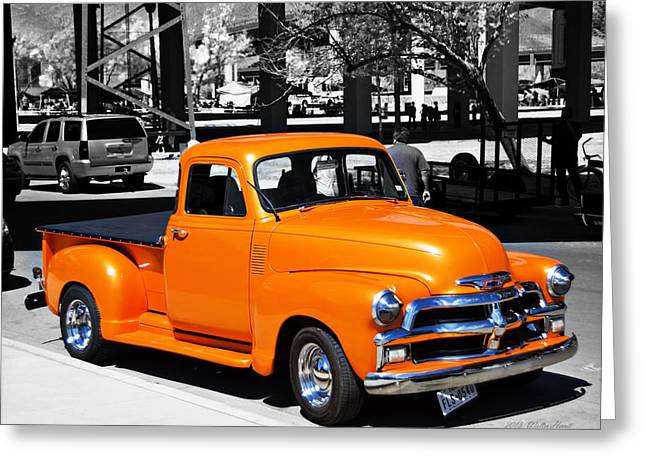 Chevy Pick Up  Greeting Card