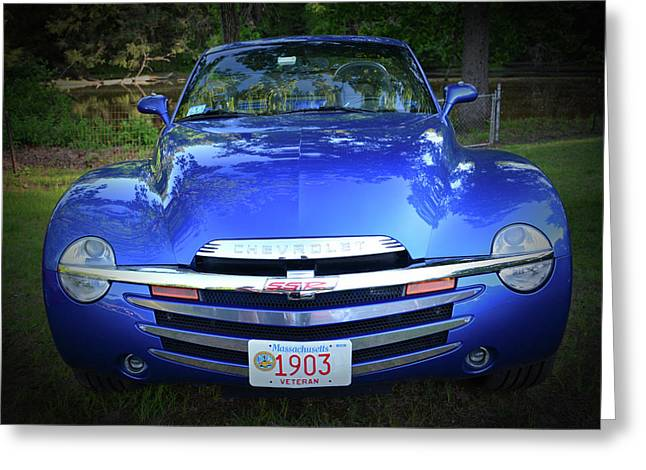 Chevy Ssr Greeting Card by Mike Martin