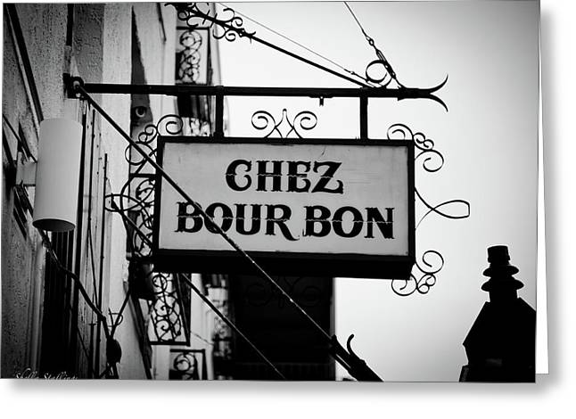 Chez Bourbon  Greeting Card