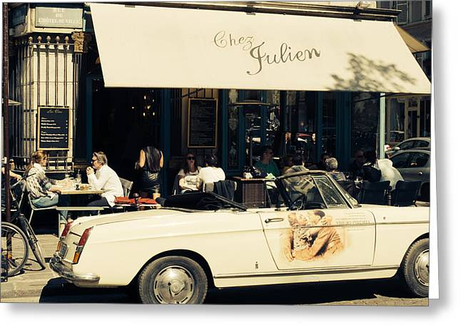 Chez Julien Greeting Card by Pati Photography