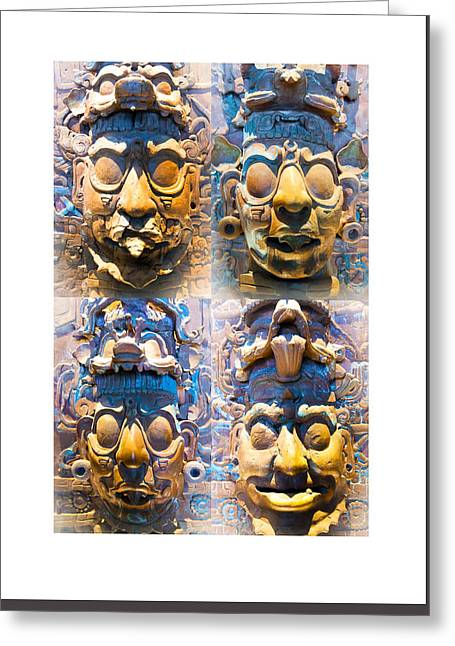 Chiapas Elders Greeting Card