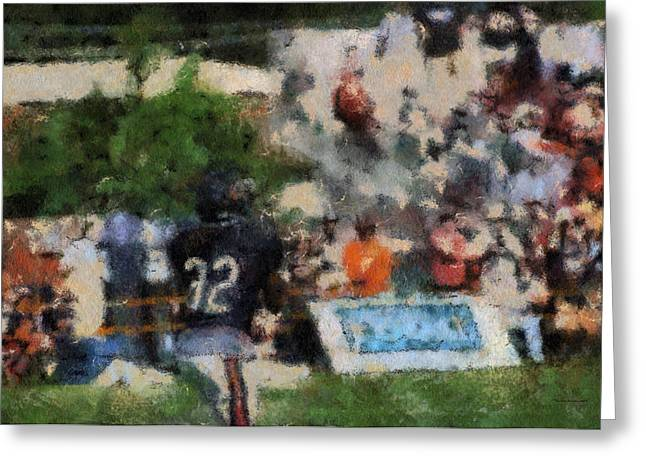 Chicago Bear Camp The Catch Pa 05 Greeting Card by Thomas Woolworth