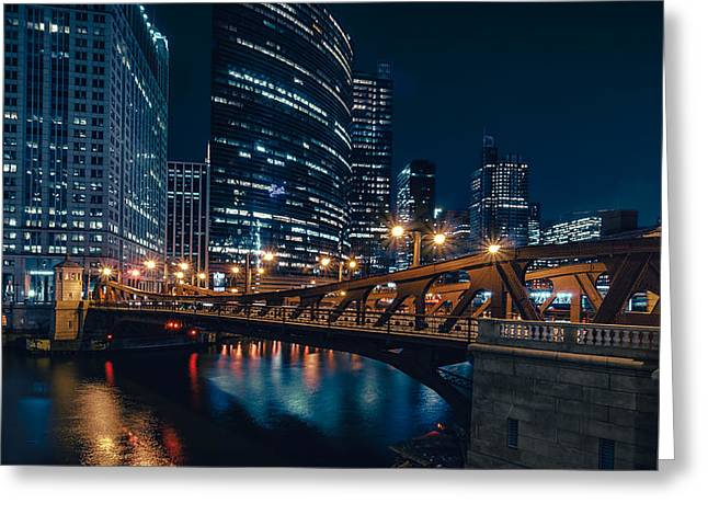 Chicago Blue II Greeting Card