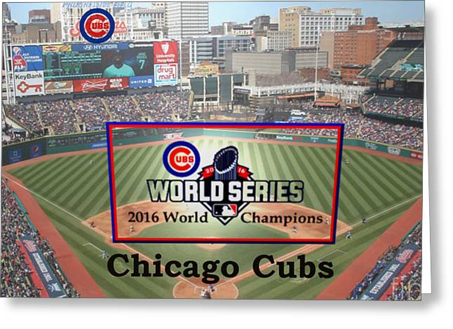 Chicago Cubs - 2016 World Series Champions Greeting Card