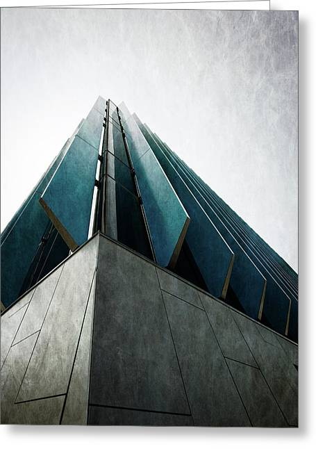 Chicago El Centro College Greeting Card by Mike Burgquist