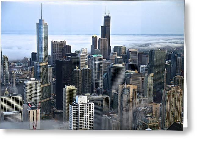 Chicago Fog Greeting Card