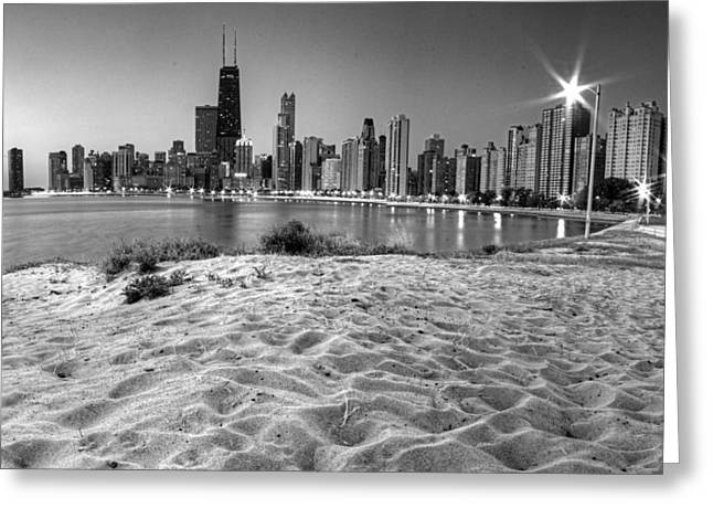 Chicago From North Beach Greeting Card